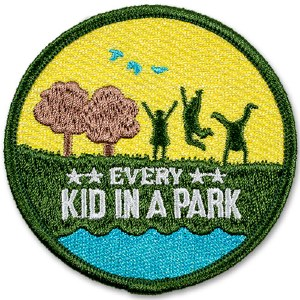 Every Kid In A Park Collectable Patch