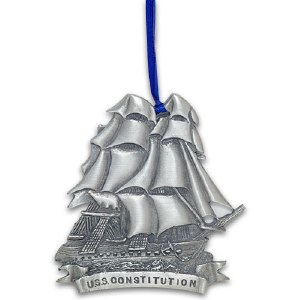 U.S.S Constitution Fine Pewter Ornament