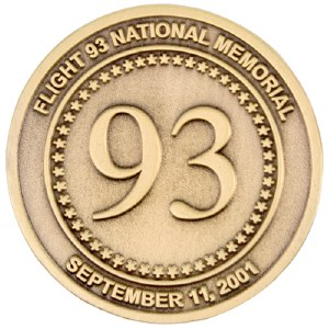 Flight 93 Gold Pin