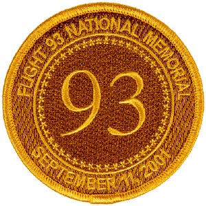 Flight 93 Gold Patch