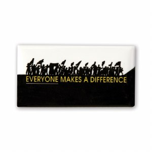 Everyone Makes A Difference Button