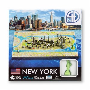 New York 4D Puzzle