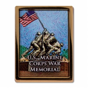 U.S. Marine Corps War Memorial Pin