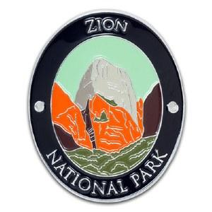 Zion National Park Walking Stick Medallion