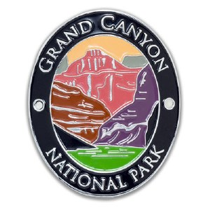 Grand Canyon National Park Walking Stick Medallion