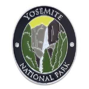 Yosemite National Park Walking Stick Medallion