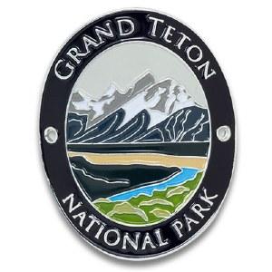 Grand Teton National Park Walking Stick Medallion