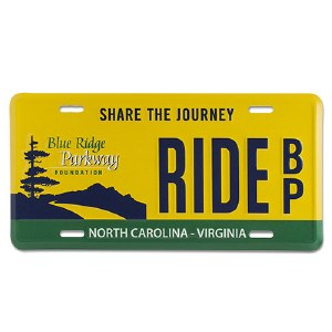 Blue Ridge Parkway Specialty License Plate