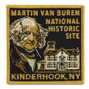 Martin Van Buren NHS Embroidered Patch