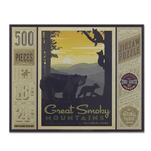 Great Smoky Mountains National Park 500 Piece Puzzle