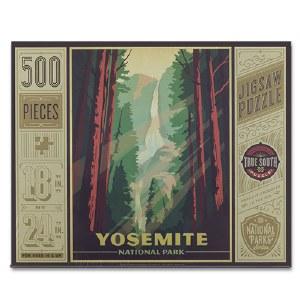 Yosemite National Park 500 Piece Puzzle