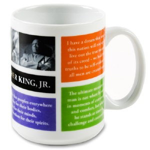 Martin Luther King Jr. Quote Mug