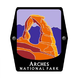 Arches National Park Trekking Pole Decal
