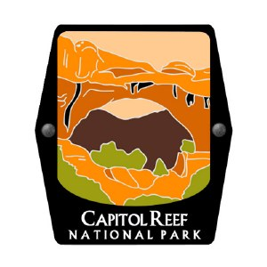 Capitol Reef National Park Trekking Pole Decal