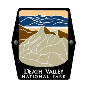 Death Valley National Park Trekking Pole Decal