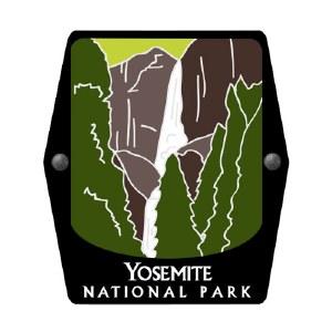 Yosemite National Park Trekking Pole Decal