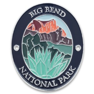 Big Bend National Park Walking Stick Medallion