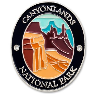 Canyonlands National Park Walking Stick Medallion