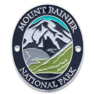 Mount Rainer National Park Walking Stick Medallion