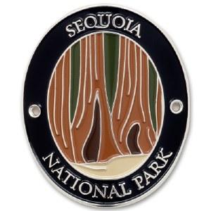 Sequoia National Park Walking Stick Medallion