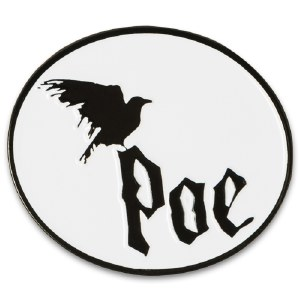 Edgar Allan Poe Raven Pin