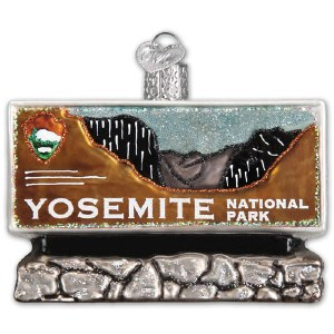 Yosemite National Park Holiday Ornament