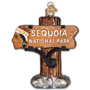 Sequoia National Park Holiday Ornament