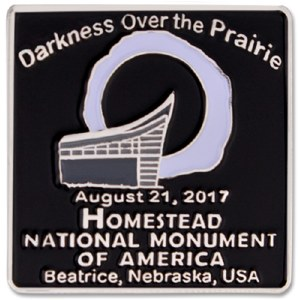 Homestead National Monument 2017 Eclipse Pin