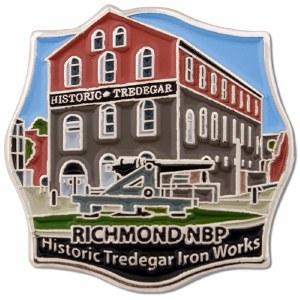 Tredegar Iron Works Pin
