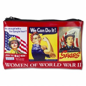 Women of WWII Zip Pouch