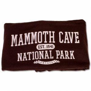 Mammoth Cave National Park Sweatshirt Blanket