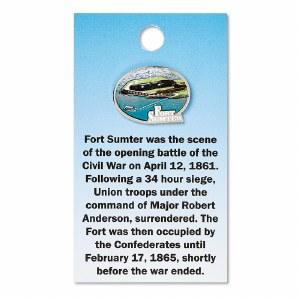 Fort Sumter Scene Pin