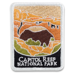 Capitol Reef National Park Collectible Patch