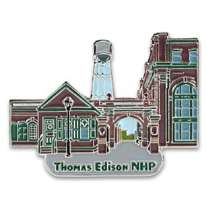 Thomas Edison National Historical Park Collectible Pin