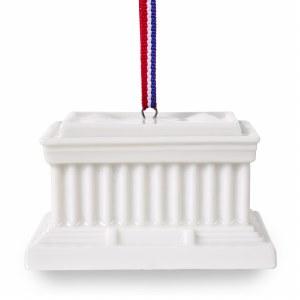Lincoln Memorial Replica Ornament