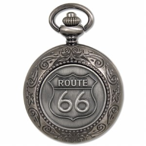 Route 66 Pocket Watch