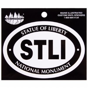Statue of Liberty Euro Decal