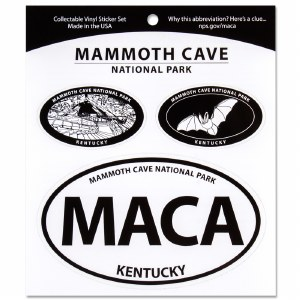 Mammoth Cave Decal Set