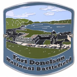 Fort Donelson Hiking Stick Medallion