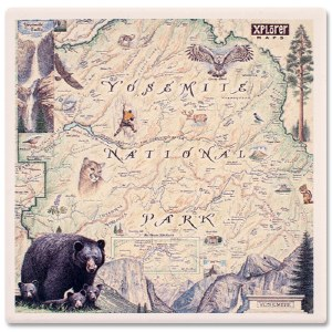 Yosemite Map Coaster