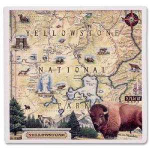 Yellowstone Map Coaster