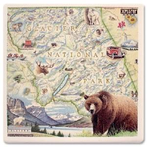 Glacier Map Coaster