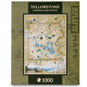 Yellowstone Map Puzzle