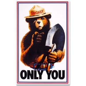 Smokey Only You Sticker