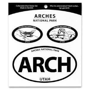 Arches National Park Triple Decal