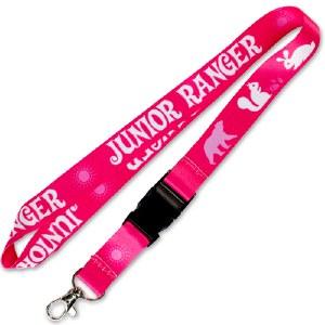 Pink Junior Ranger Lanyard