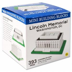 Lincoln Memorial Mini Building Blocks