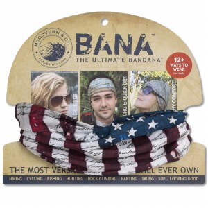 American Flag/Constitution Bandana