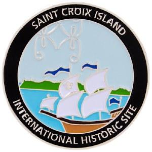 Saint Croix Island Pin