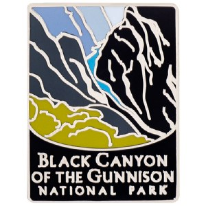 Black Canyon of the Gunnison NP Traveler Pin